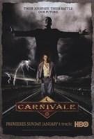 """Carnivale HBO - 11"""" x 17"""""""