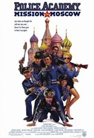 """Police Academy: Mission to Moscow - 11"""" x 17"""""""