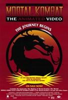"Mortal Kombat - dragon - 11"" x 17"""