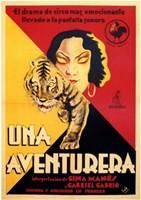 "Una Aventurera - 11"" x 17"" - $15.49"