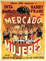 """Mercado de Mujeres - 11"""" x 17"""""""