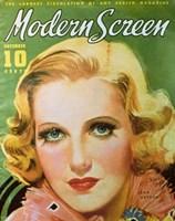 "Jean Arthur - Modern Screen - 11"" x 17"""