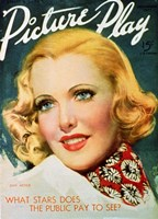"Jean Arthur - Picture play - 11"" x 17"""