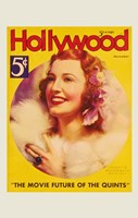 """Jeanette MacDonald - Hollywood - 11"""" x 17"""""""