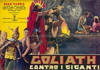 """Goliath and the Giants - 17"""" x 11"""""""