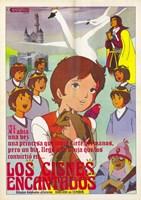 """Los Cisnes Encantados - 11"""" x 17"""""""