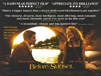 "Before Sunset Critics Acclaim - 17"" x 11"""