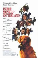 "Inside Monkey Zetterland - 11"" x 17"""