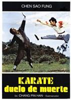"""Karate Death Duel - 11"""" x 17"""""""
