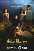 "Dead Like Me Reaper Madness - 11"" x 17"", FulcrumGallery.com brand"