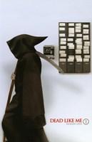 Dead Like Me Reaper Clocking In Framed Print