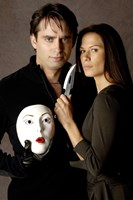 "Nip/Tuck - couple with a mask - 11"" x 17"""