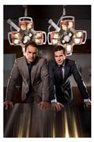 """Nip/Tuck - men in suits - 11"""" x 17"""""""