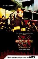 """Rescue Me (TV) Denis Leary - 11"""" x 17"""""""