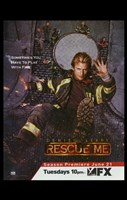 """Rescue Me (TV) Play with Fire - 11"""" x 17"""""""