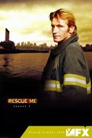 """Rescue Me (TV) Sepia Colored - 11"""" x 17"""""""