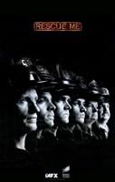 "Rescue Me (TV) Line Up - 11"" x 17"""
