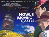 "Howl's Moving Castle Bizarre and Brilliant - 17"" x 11"""