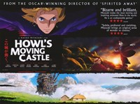 """Howl's Moving Castle Collage Horizontal - 17"""" x 11"""""""