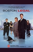 "Boston Legal - shark - 11"" x 17"" - $15.49"