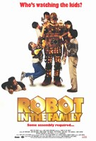 """Robot in the Family - 11"""" x 17"""" - $15.49"""