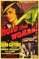 """Hold That Woman - 11"""" x 17"""" - $15.49"""