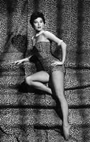 "Ava Gardner In Leopard Print Bathing Suit - 11"" x 17"""