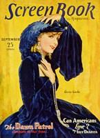 """Greta Garbos - Screen Book - 11"""" x 17"""""""