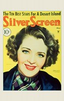 """Ruby Keeler Silver Screen Yellow Small - 11"""" x 17"""""""