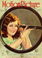 """Clara Bow - motion picture - 11"""" x 17"""""""