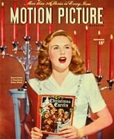 "Deanna Durbin - Motion Picture - 11"" x 17"""