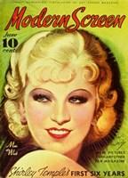 """Mae West - 11"""" x 17"""""""