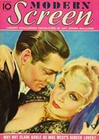 "Mae West - Modern Screen - 11"" x 17"""