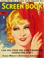 """Mae West - Screen Book - 11"""" x 17"""""""