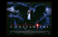 Constantine - black wings Fine Art Print