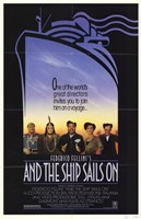 """And the Ship Sails On - 11"""" x 17"""""""