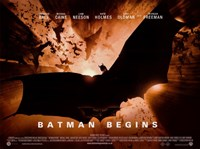 "Batman Begins Bat Logo Horizontal - 17"" x 11"""