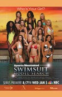 """Sports Illustrated Swimsuit Model Search - 11"""" x 17"""""""