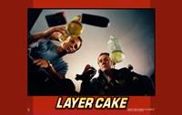 """Layer Cake - horizontal (two men drinking) - 17"""" x 11"""" - $15.49"""