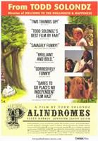 "Palindromes Movie - 11"" x 17"""