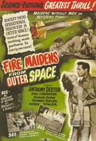 "Fire Maidens From Outer Space - 11"" x 17"" - $15.49"