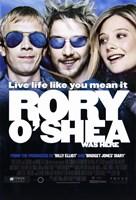 """Rory O'Shea Was Here - 11"""" x 17"""""""