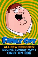 Family Guy Peter Griffin Fine Art Print