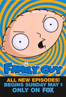 Family Guy Stewie Fine Art Print