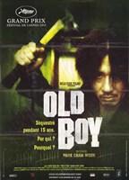 """Oldboy - man with a hammer - 11"""" x 17"""""""