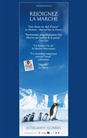 """March of the Penguins Vertical - 11"""" x 17"""""""