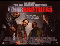 """Four Brothers - they came home to bury their mother - 17"""" x 11"""""""