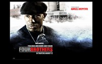 """Four Brothers - Angel Mercer - 17"""" x 11"""""""