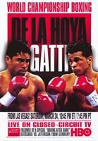 """Oscar De La Hoya vs  Arturo Gatti - 11"""" x 17"""""""