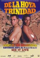 "Oscar De La Hoya vs Felix Trinidad - 11"" x 17"""